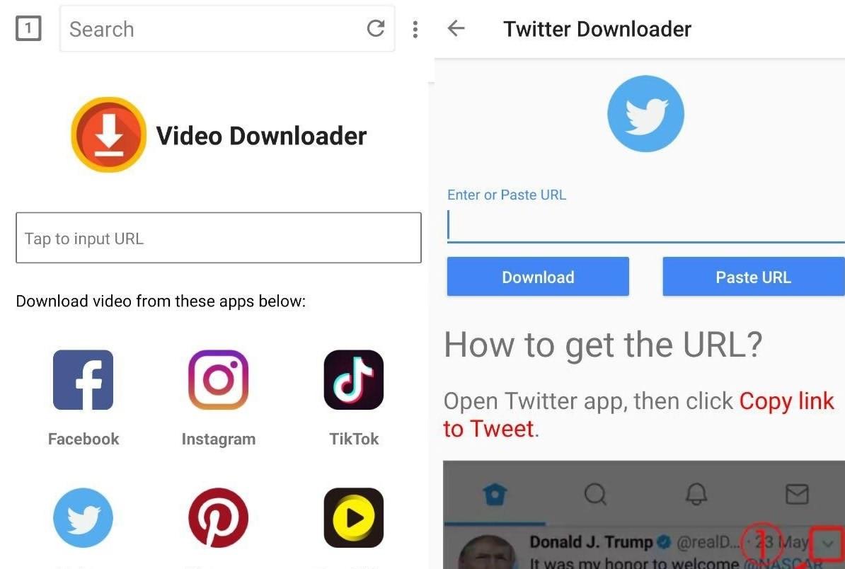 برنامه دانلود ویدیو از شبکه های اجتماعی برای اندروید All Video Downloader 2019