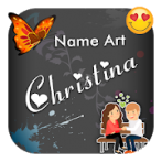 دانلود برنامه طراحی اسم و نوشتن متن روی عکس اندروید Fancy Artistic Name Art