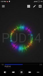 دانلود موزیک پلیر رنگی و زیبا اندروید AVS Visualizer Pro / Music Player