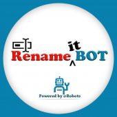 ربات تلگرام تغییر و ویرایش نام فایل ها RenameBot