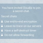 آموزش دانلود از سکرت چت تلگرام