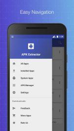 نرم افزار دسترسی به فايل apk برنامه هاي نصب شده APK Extractor - Creator