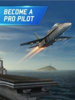 بازی اندروید شبیه ساز پرواز با جنگنده و هواپیما Flight Pilot Simulator 3D Free