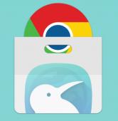 نصب افزونه های گوگل کروم بر روی مرورگر کیوی اندروید