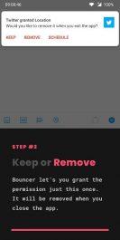 نرم افزار دسترسی یک بار مصرف برنامه ها Bouncer - Temporary App Permissions
