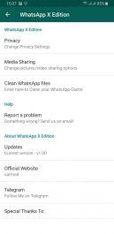 دانلود واتساپ ایکس اندروید - نسخه جدید واتساپ پلاس WhatsApp X