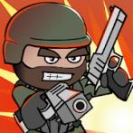 دانلود نسخه مود شده بازی Doodle Army 2 : Mini Militia اندروید