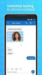 برنامه اندروید شماره مجازی رایگان واتساپ و تلگرام Talkatone: Free Phone Number