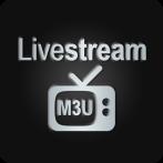 برنامه پخش M3U آی پی تی وی اندروید Livestream TV - M3U Stream Player IPTV