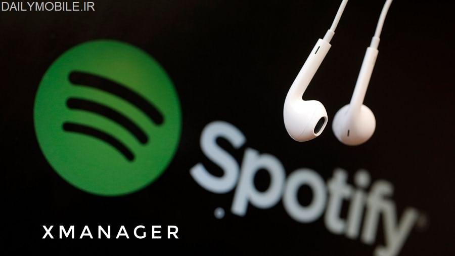 دانلود برنامه xManager (Spotify) - نسخه های جدید و مود شده اسپاتیفای اندروید