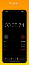 دانلود برنامه ساعت هشدار آیفون برای اندروید iClock iOS - Clock iPhone