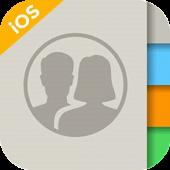 دانلود برنامه مدیریت مخاطبین آیفون برای اندروید iContacts – iOS Contact